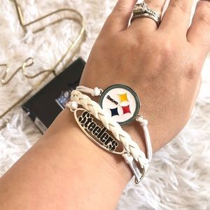 Ashley Bridget NFL Pittsburgh Steelers Bracelet